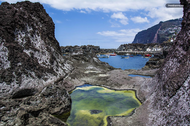 Бухта на острове Мадейра
