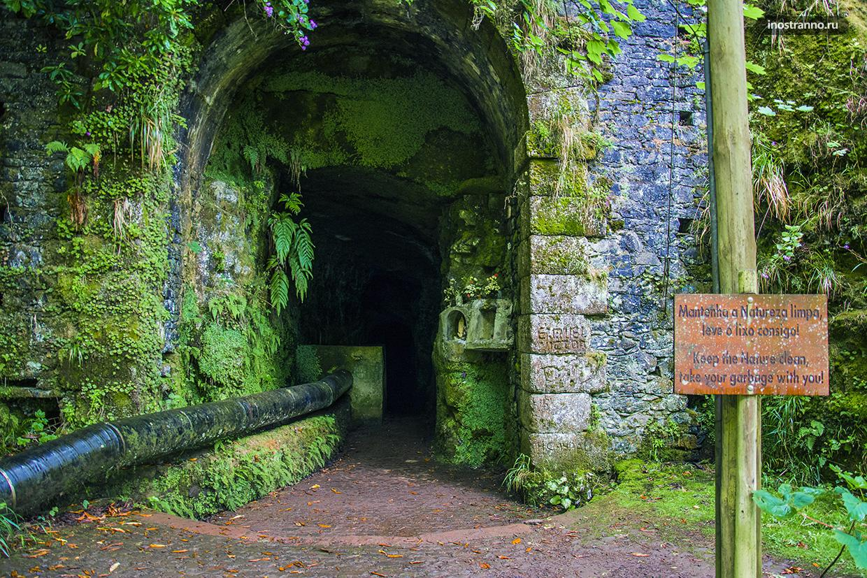 Туннель на Мадейре
