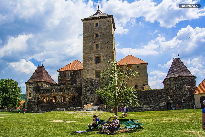 Самые красивые замки Чехии