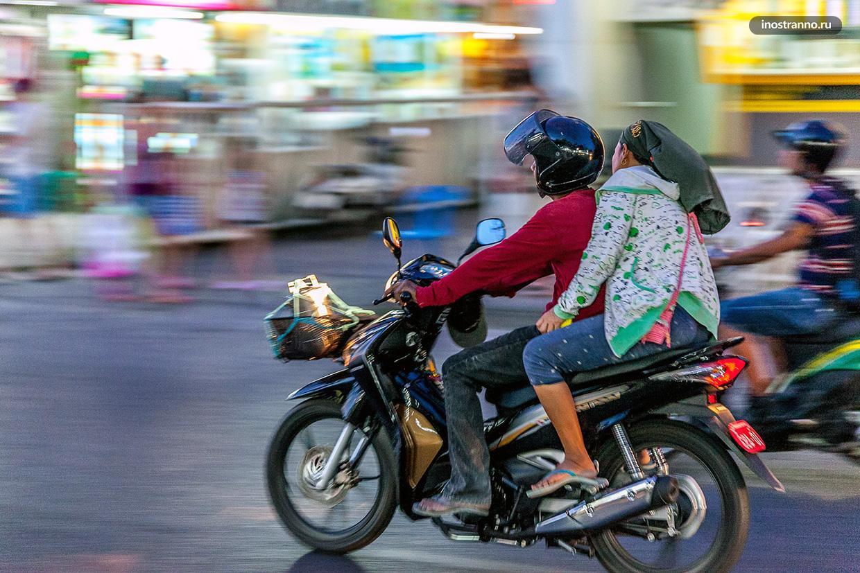 Аренда байка скутера в Паттайе