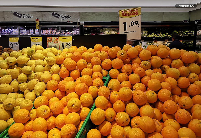 Цены в супермаркетах МАдейры