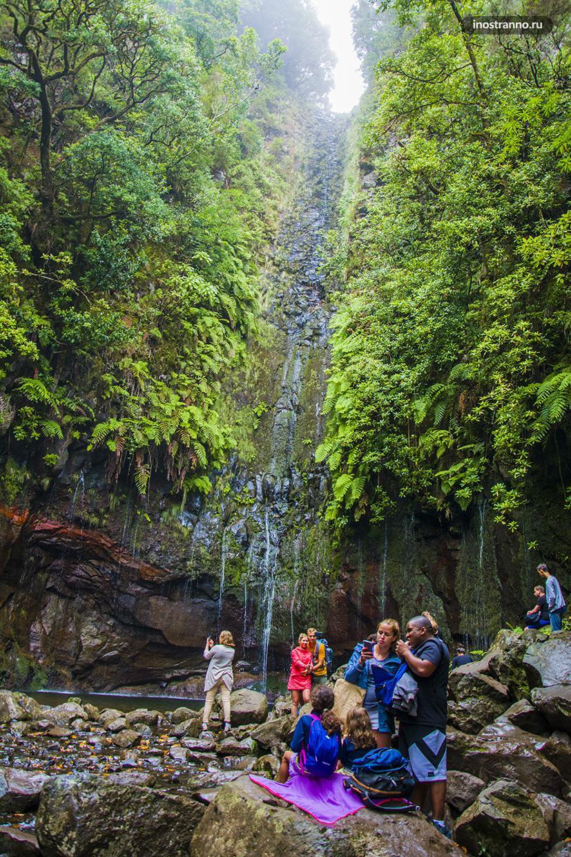 Водопады острова Мадейра