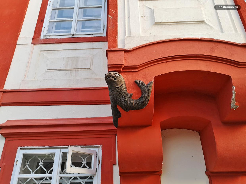 Барочный дом в Праге
