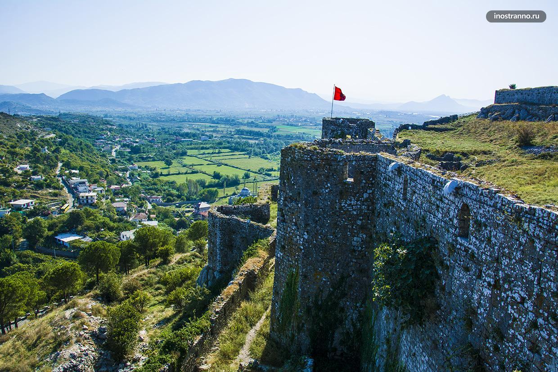 Крепость в Албании, достопримечательность