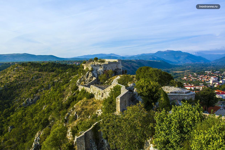 Крепость Книн в Хорватии