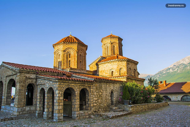 Монастырь Святой Наум в Северной Македонии