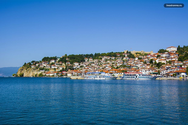 Охридское озеро в Северной Македонии