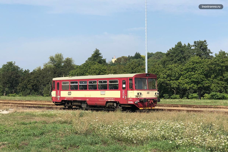 Железнодорожный вокзал в Карловых Варах