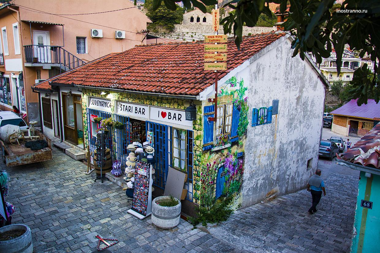 Старый Бар в Черногории