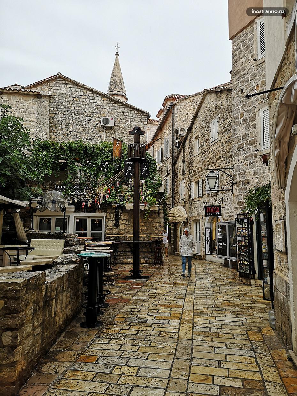 Улицы старого города Будва