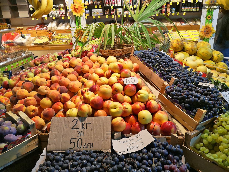 Фрукты и овощи в Северной Македонии