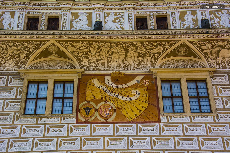 Сграффито в Чехии