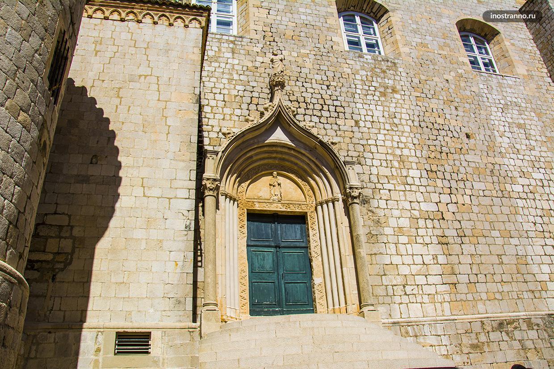 Доминиканский монастырь Дубровника