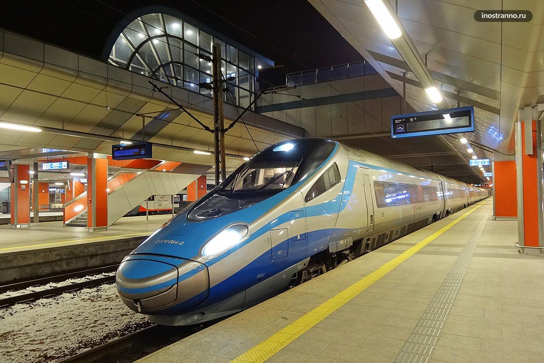 Центральный железнодорожный вокзал Кракова