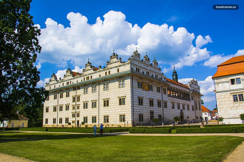 Замок в Литомишле