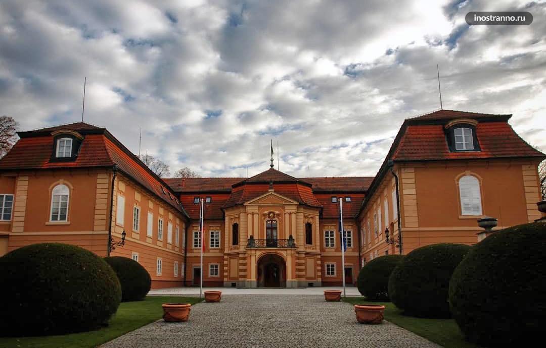 Замок Штиржин в Праге