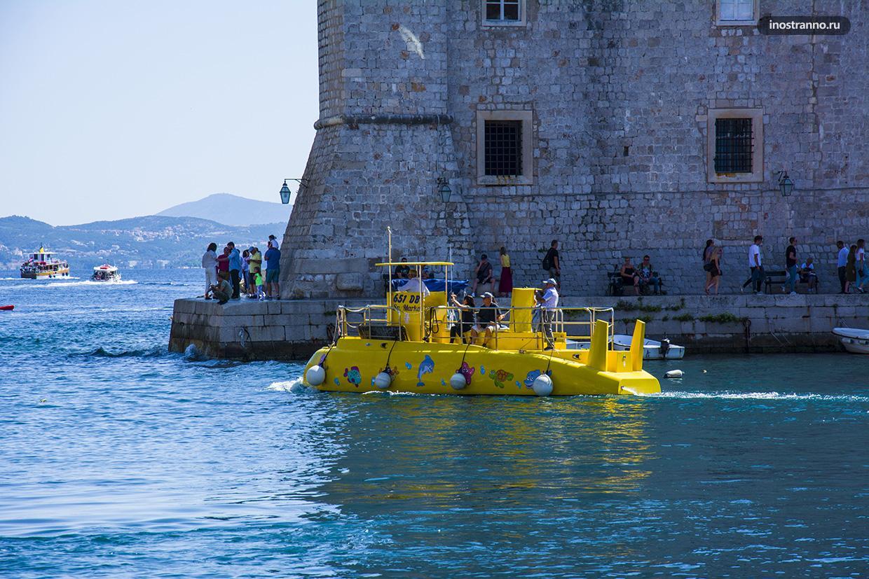 Подводная лодка экскурсия