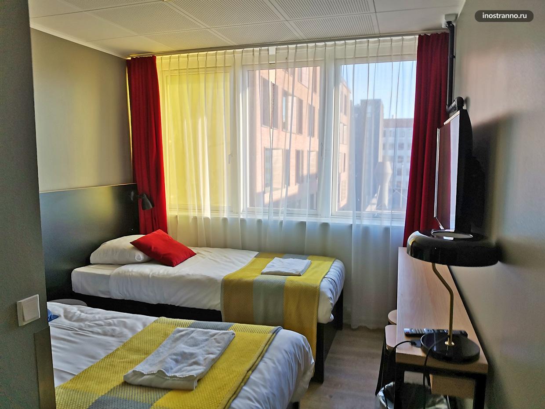 Недорогой отель в центре Копенгагена