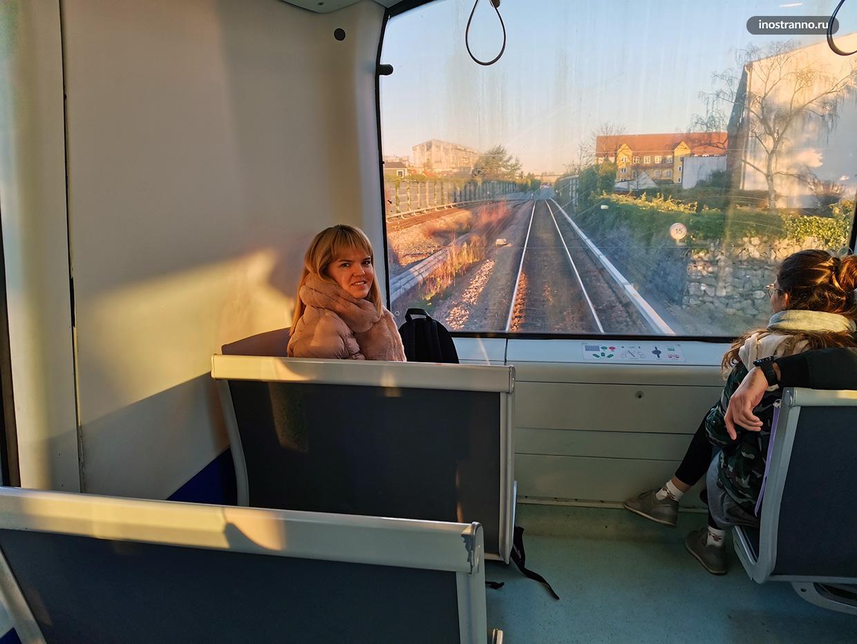 Полностью автоматизированное метро в Копенгагене