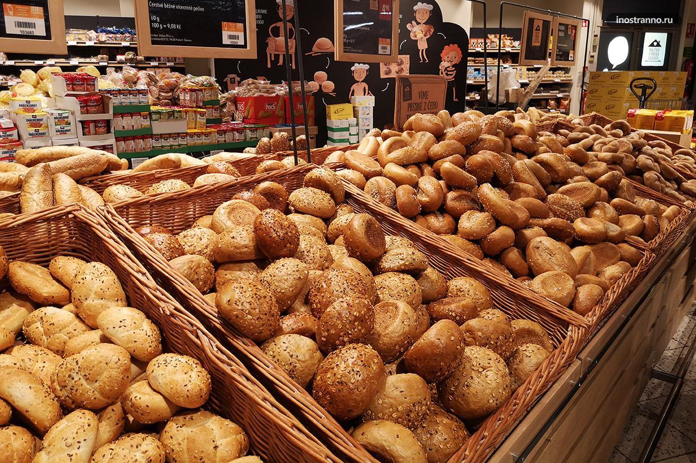 Виды чешского хлеба
