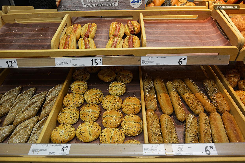 Разновидности чешского хлеба
