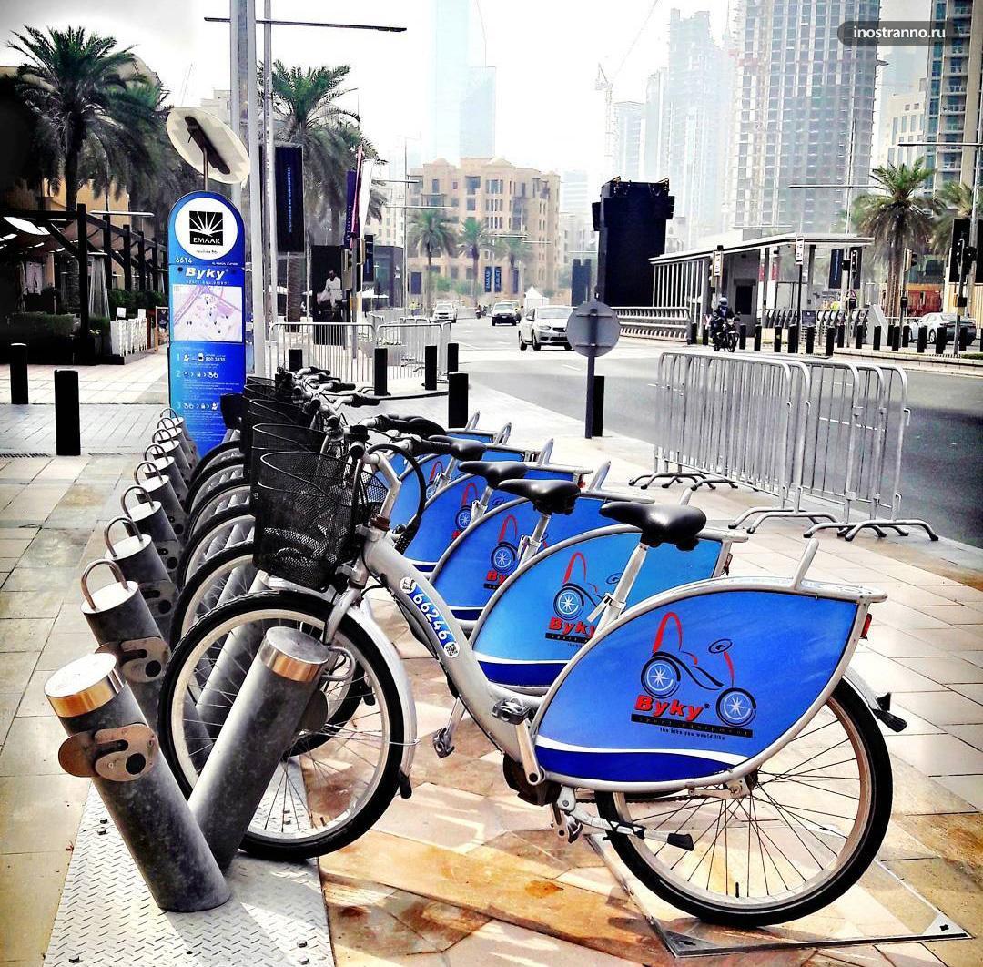 Аренда велосипеда в Дубае