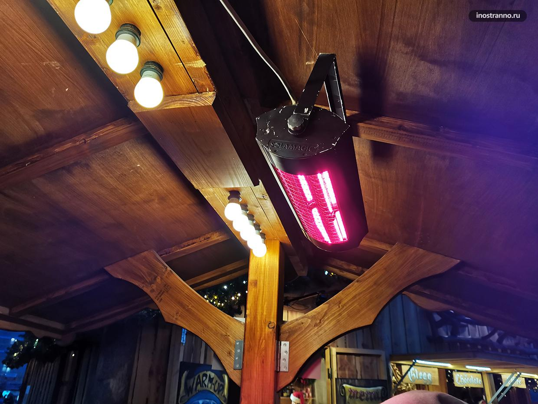 Тепловые лампы