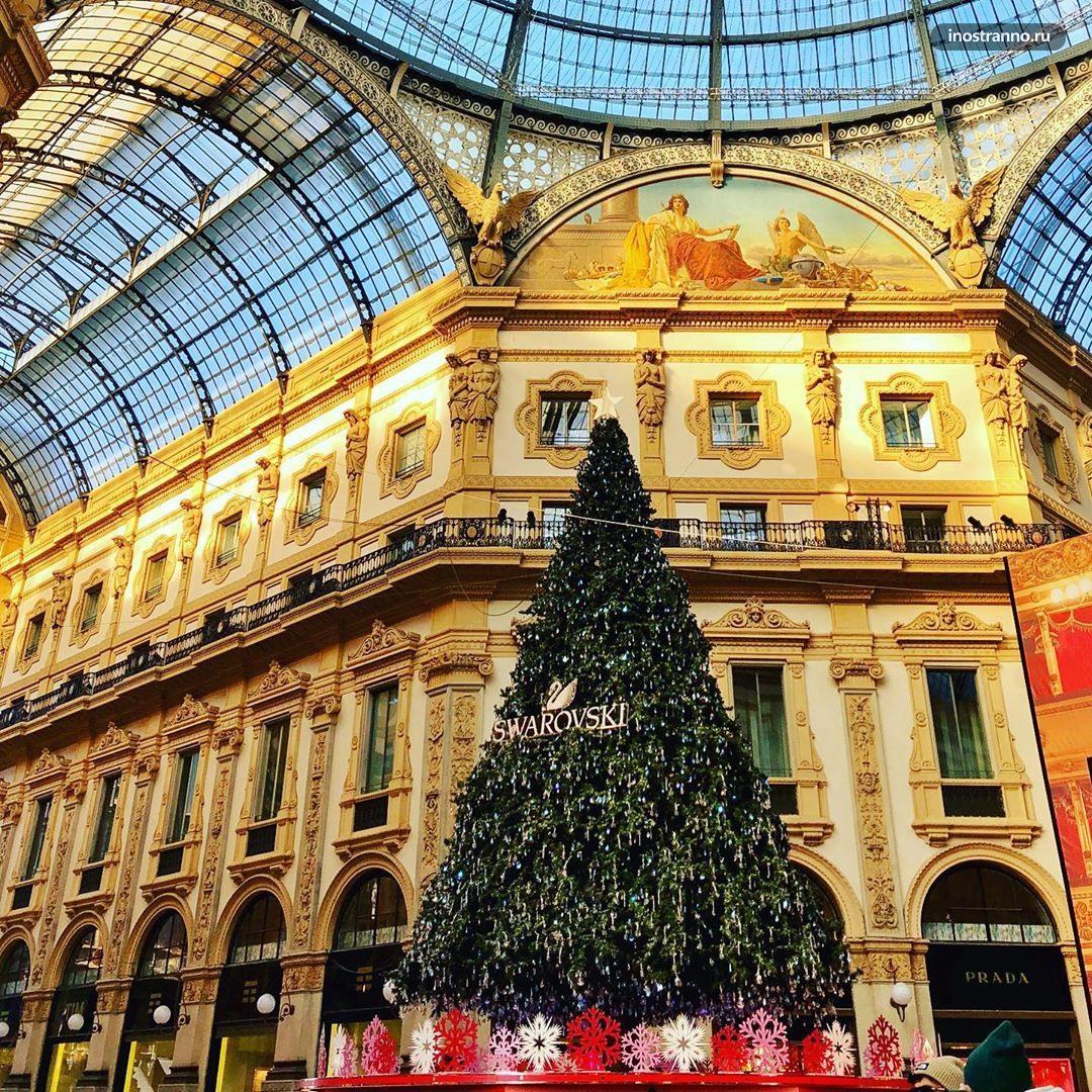 Рождественский рынок в Милане