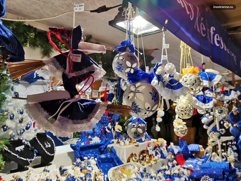 Новогодние игрушки из Венгрии