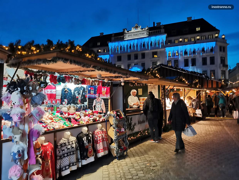 Сувениры на рынке Kongens Nytorv