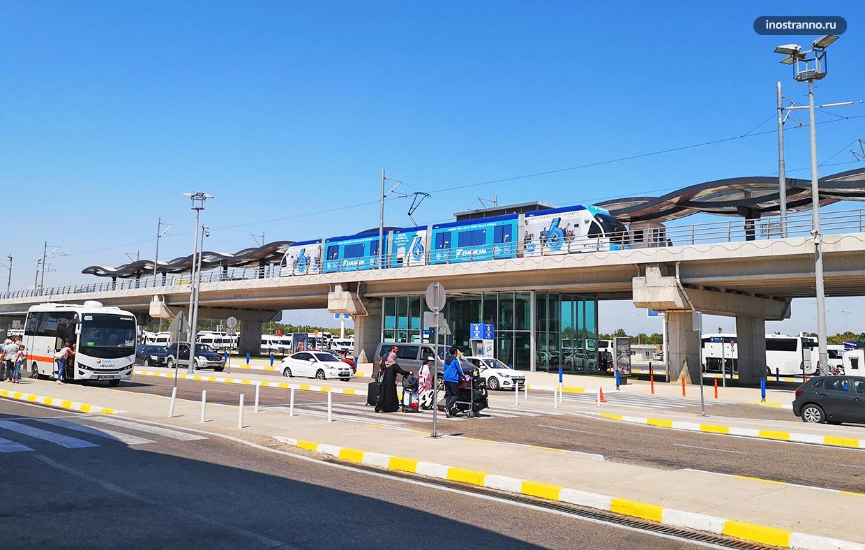 Трамвай из аэропорта Анталии как добраться до центра