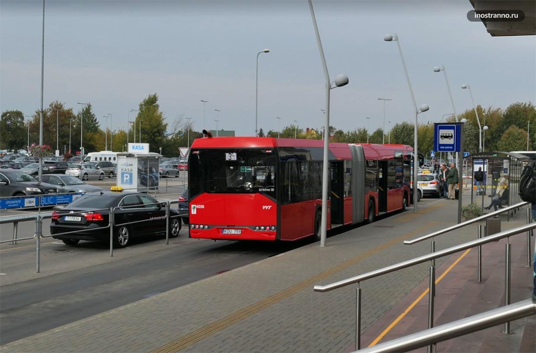 Как добраться из Аэропорта Вильнюса на автобусе