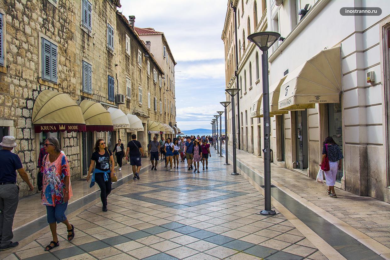 Улочки Хорватии