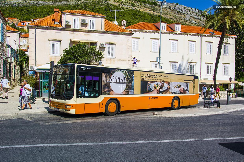 Дубровник автобус