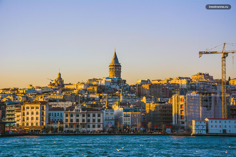 Галатская башня лучшая смотровая площадка Стамбула