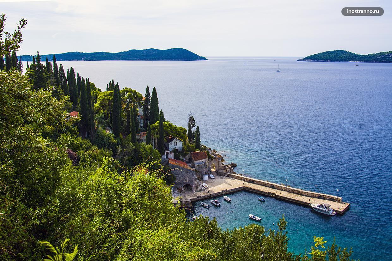 Небольшая хорватская бухта