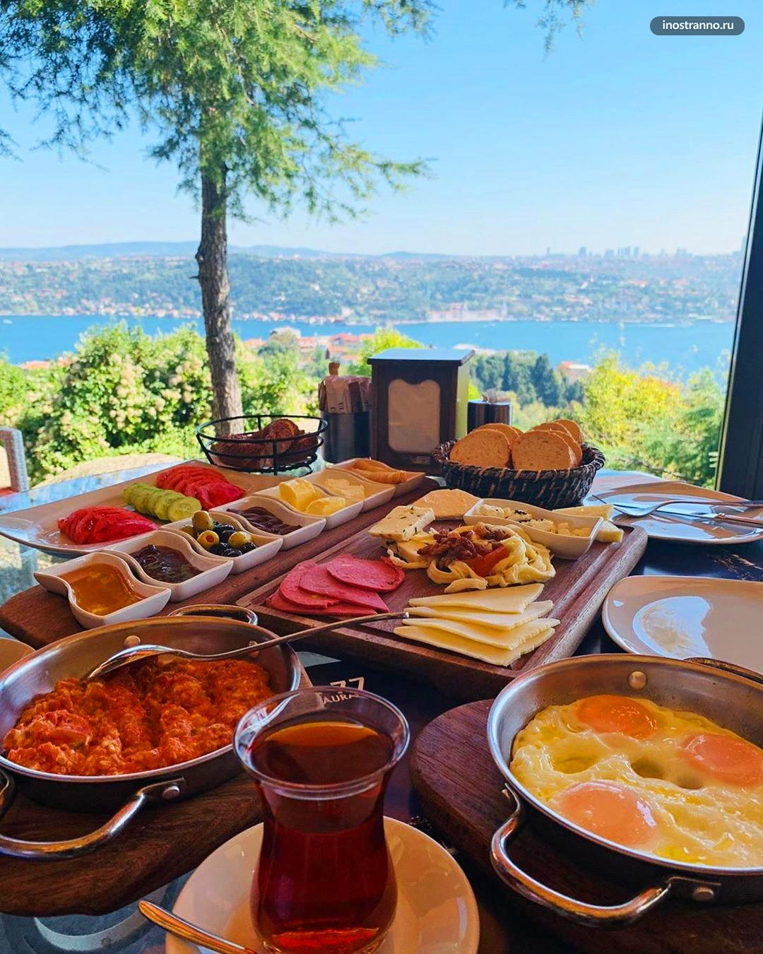 Парк Улус и хорошее кафе со смотровой в Стамбуле