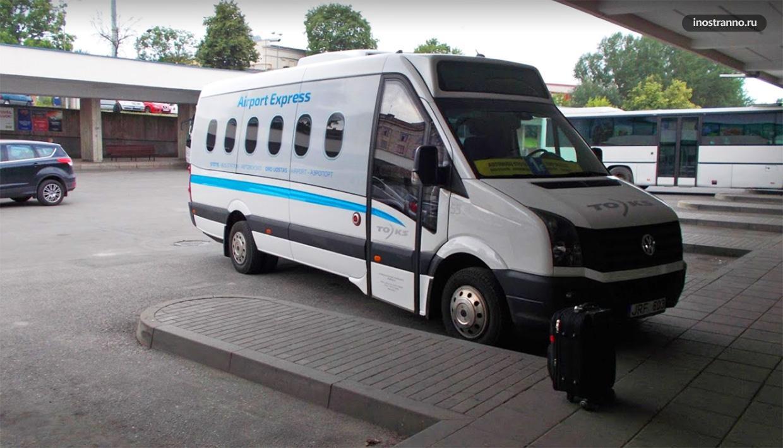 Вильнюс аэропорт такси трансфер