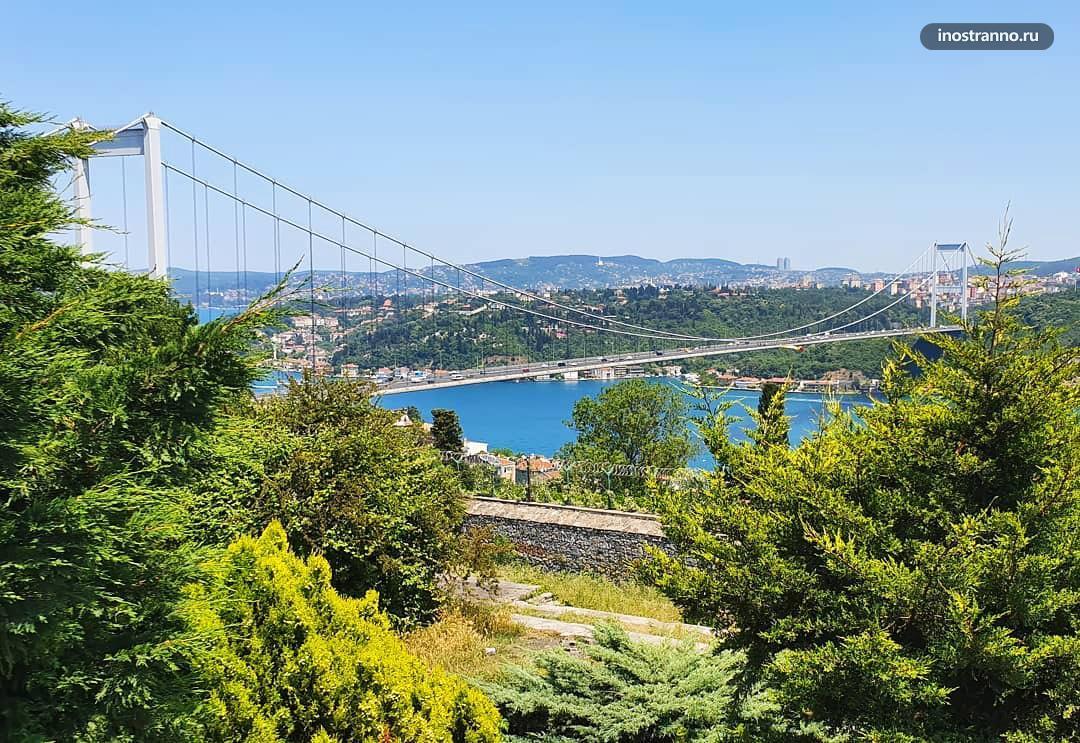 Холм Нафи Баба смотровая в Стамбуле