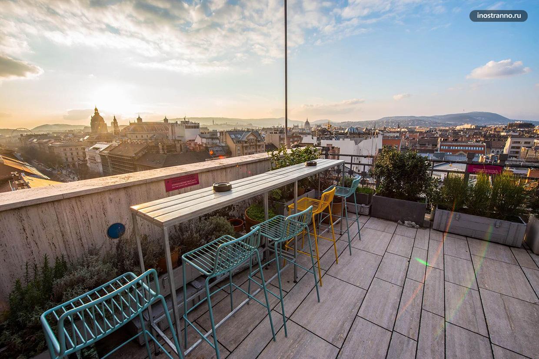 360 Bar -- Бар в Будапеште на крыше