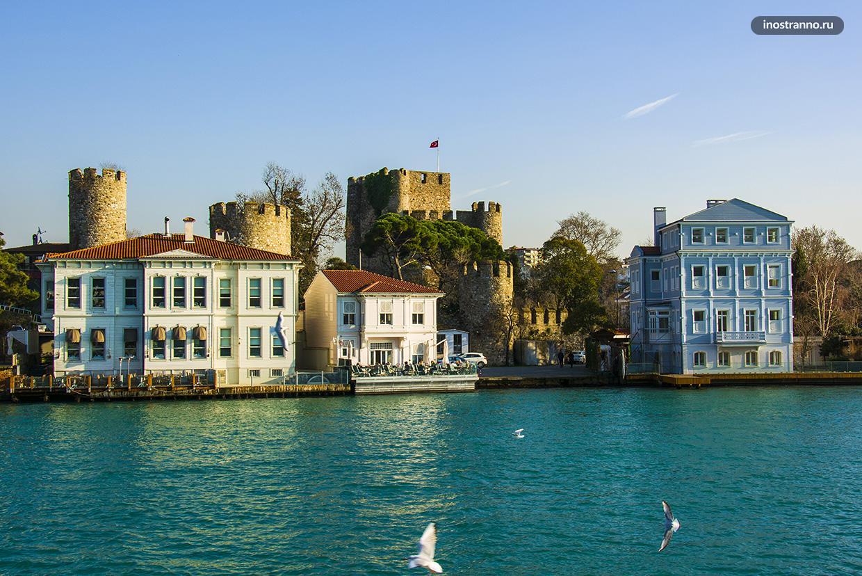 Крепость Анадолу Хисары в Стамбуле