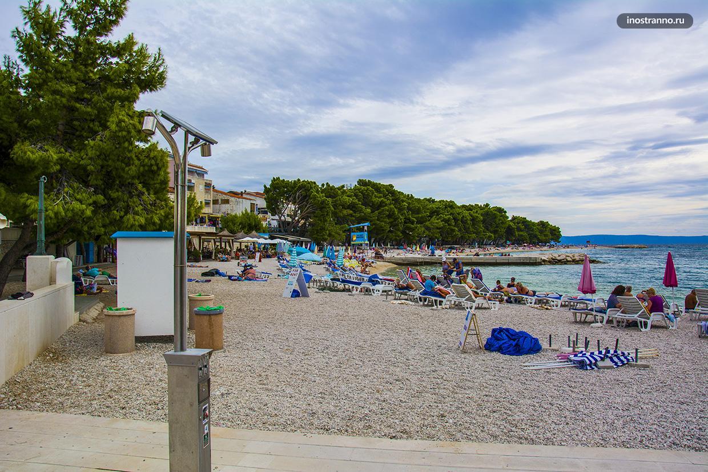 Пляж в Башка-Воде