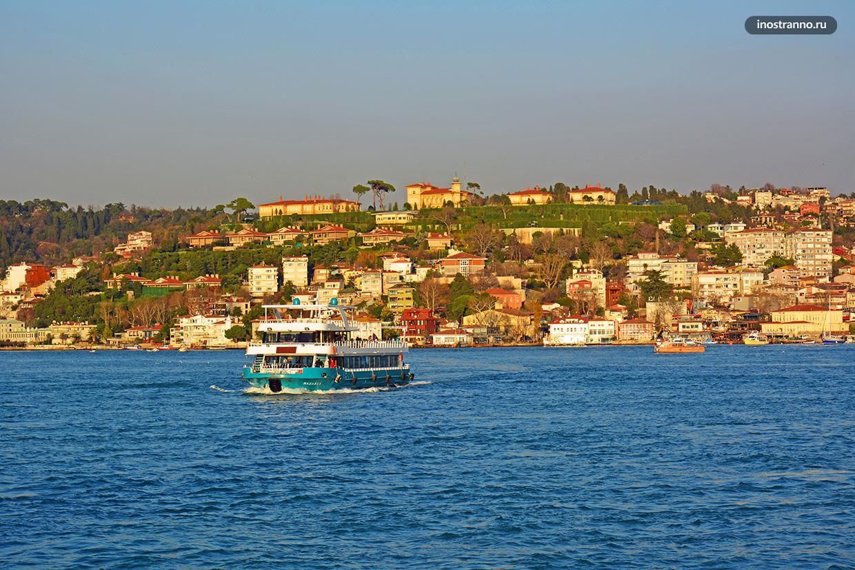 Красивый район в Стамбуле