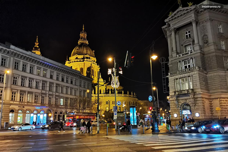 Ночная жизнь Будапешта