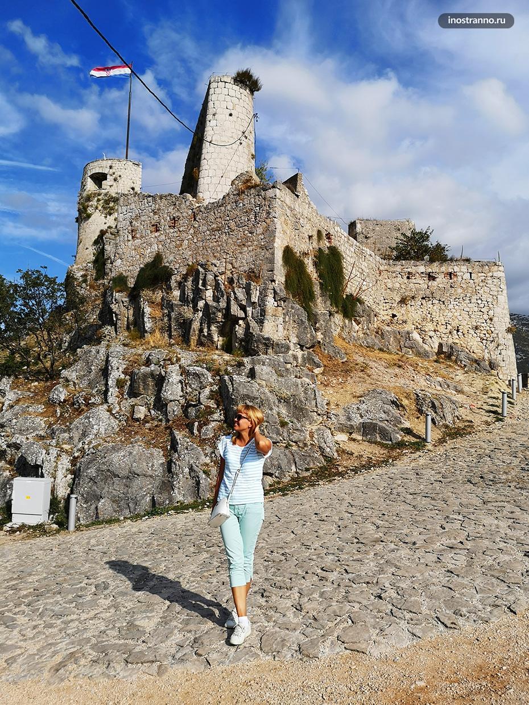 Крепость в Хорватии