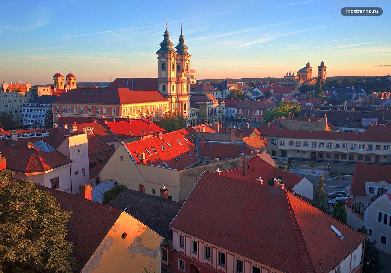Эгер красивейший город в Венгрии кроме Будапешта