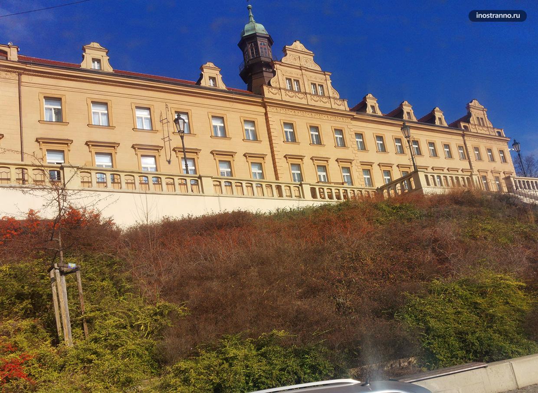Вршовицкий замок Рангерка в Праге