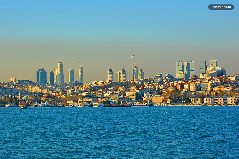Небоскрёбы Стамбула