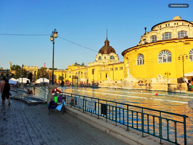 Купальня Сечени в Будапеште билет онлайн со скидкой