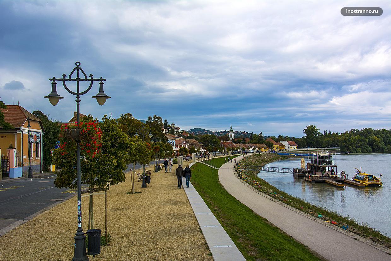 Сентендре красивый город рядом с Будапештом